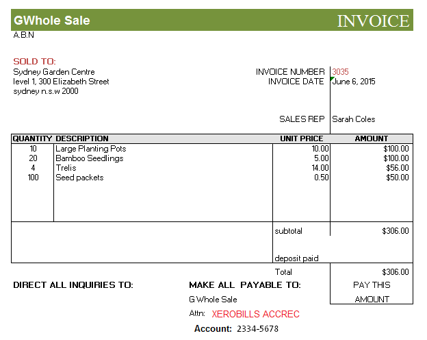 sale invoices - Etame.mibawa.co