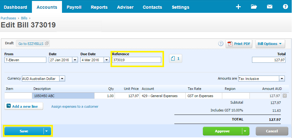 invoice_numbers